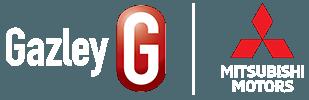gazley mitsubishi logo white text