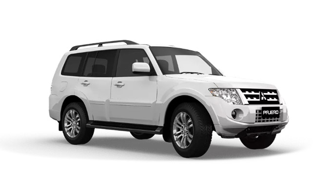 Pajero Exceed finished in Cadrona