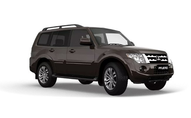 Pajero Exceed finished in Deep Bronze