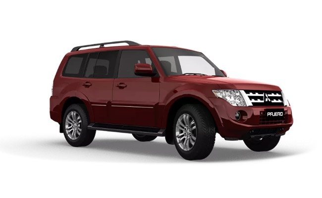 Pajero Exceed finished in Redwood