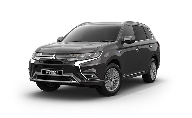 Outlander PHEV VRX finished in Titanium
