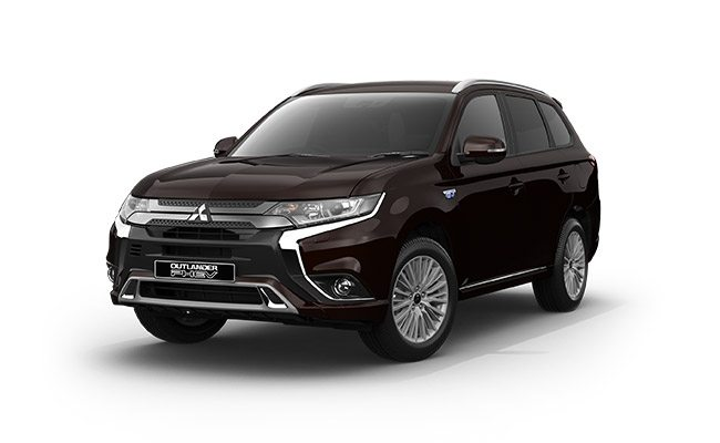Outlander PHEV XLS finished in Ruby Black