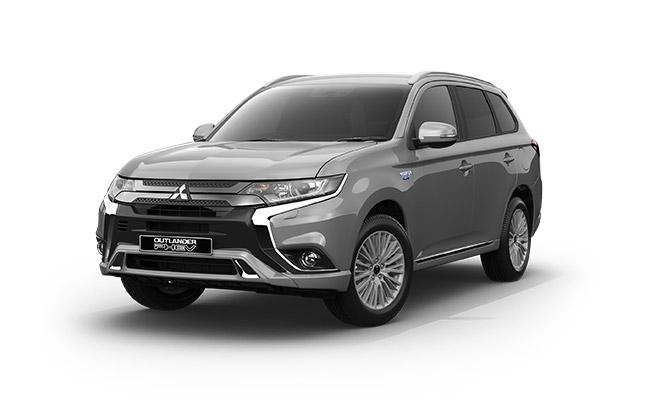 Outlander PHEV XLS finished in Sterling Silver