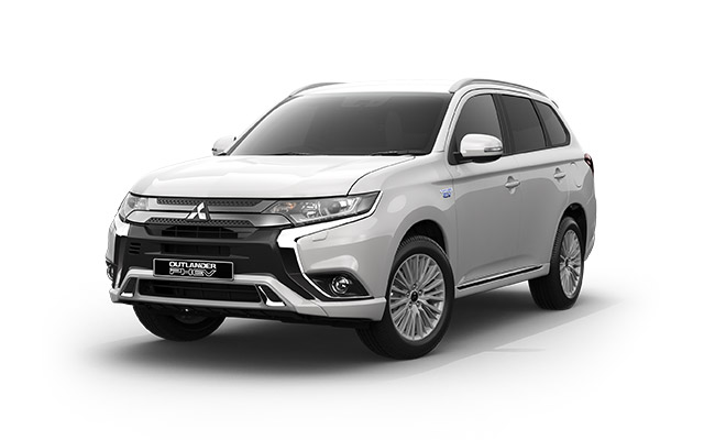 Outlander PHEV XLS finished in Cadrona