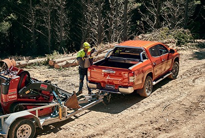 Built to Tow Thanks to ample torque and trailer safety systems you can tow up to 3.5 tonnes*, no sweat. The chassis has been reinforced for greater strength and added confidence when towing heavy loads.