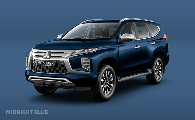Pajero Sport finished in Midnight Blue