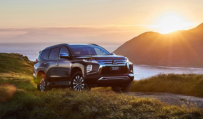 All the power you need For high output and great efficiency, Pajero Sport uses a 2.4L diesel and 8-speed transmission. The Super Select 4WD is at your fingertips. When the going gets rough, Off Road Mode will get you back out.