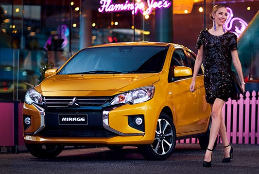 A fresh face in the city Whether you're going out on the town or pulling into the front row of a fancy hotel, you'll always be an 'A-lister' with new Mirage.