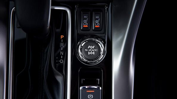 Mitsubishi Eclipse Cross any-wheel drive control