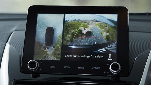 Mitsubishi Eclipse Cross reverse camera with around view monitor