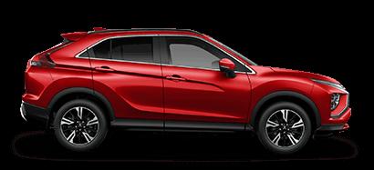 Mitsubishi Eclipse Cross VRX side profile in red