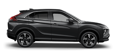Mitsubishi Eclipse Cross XLS side profile in black